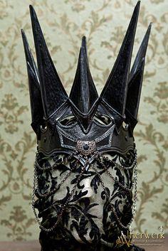 """Fantasy Lederkrone von """"Aetherwerk"""""""