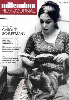 Carolee Schneemann - growing out her greys
