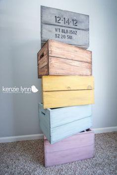 Kenzie Lynn Designs: Crate Keepsake - great custom photo prop idea