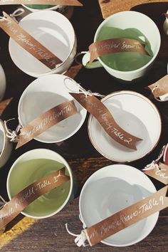 I have so wanted to do a tea bar at a wedding! teacup escort cards (photo by Jonathan Ong) Tuscan Wedding, Luxe Wedding, Wedding Details, Wedding Events, Weddings, Tea Party Wedding, Wedding Name, Wedding Table Centerpieces, Wedding Reception Decorations