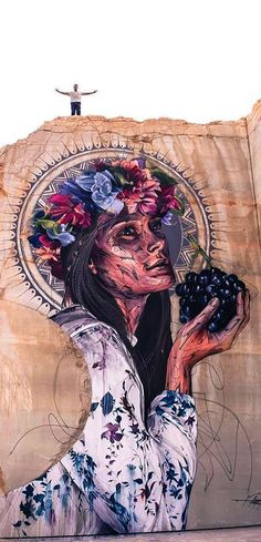 Street Art - Hopare in France Graffiti Murals, Street Art Graffiti, Mural Art, Yarn Bombing, Urbane Kunst, Surface Art, Best Street Art, Chicano Art, Street Artists