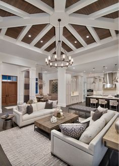Neutral living room - HOUZZ
