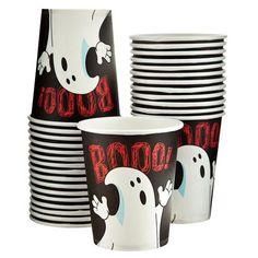 Boo! 40 Halloween Cups | Poundland Halloween Cups, Spooky Halloween, Anna, Holidays, House, Stuff To Buy, Ideas, Holiday, Haus