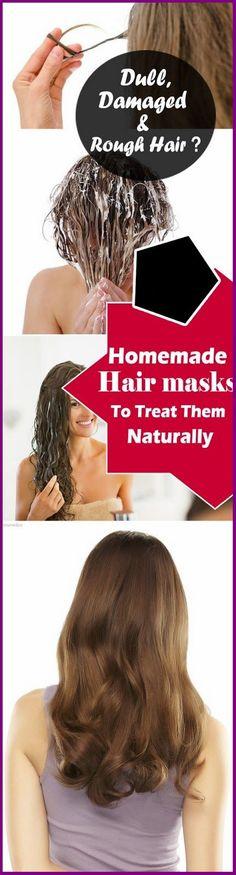 Homemade Hair Masks For Dull And Damaged Hair