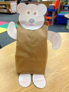 Paper Bag Bear project