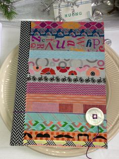 We made journals for the girls this year.