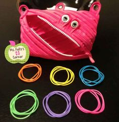 Buy plastic bracelets at a dollar store and use them when you need students to break up into groups.