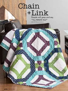 - Chain + Link Quilt Kit