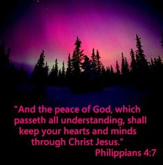 Philippians 4:7 - Peace of God