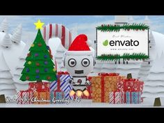 Robot SS2 - Christmas Greetings AE | After Effects template