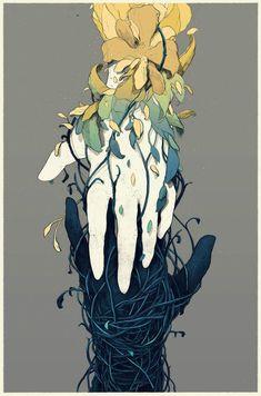 Tu recepcja - simon prades reality is so beautiful art art dessin, art fant Art Inspo, Kunst Inspo, Inspiration Art, Art And Illustration, Fantasy Kunst, Fantasy Art, Anime Kunst, Anime Art, Arte Obscura