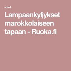 Lampaankyljykset marokkolaiseen tapaan - Ruoka.fi