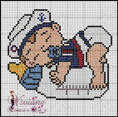 Que es mi bibi mi tesoro Cross Stitch Sea, Baby Cross Stitch Patterns, Cross Stitch For Kids, Cross Stitch Charts, Cross Stitch Designs, Cross Stitching, Cross Stitch Embroidery, Plastic Canvas Patterns, C2c