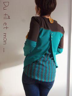 Patron gratuit du 38 au 48  Haut Bee by Linda - Du fil et mon...