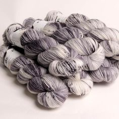 Hedgehog Fibres Sock Typewriter 90% merino wool, 10% nylon, superwash 100 grams/ 437 yards perfect balance of soft and durable fantastic for socks, shawls, scarves, hats and baby items and more (Photo