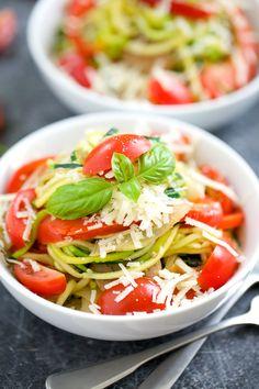 Sausage Pepper Zucchini Pasta | GI 365