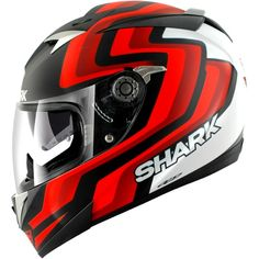 SHARK S900 Comfort Foret N. Mat / R / BL FOR.MT-KRW