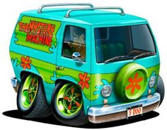 Sooby Doo Mystery Machine