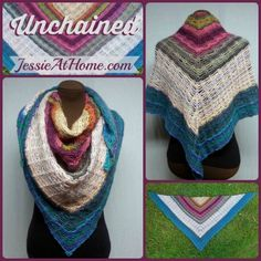 Unchained Shawl ~Free Crochet Pattern