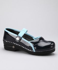 Take a look at this Navy Original Professional Demi Closed Clog - Women by Sanita on #zulily today!