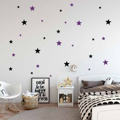 """Decorative stele - autocolant de perete. Vă doriti un interior elegant? Autocolantul inovator si original de perete """"Decorative stele"""" va desăvârsi interiorul dvs. într-un mod neconventional. Încercati autocolante de perete, care sunt o metodă accesibilă si în acelasi timp foarte eficientă de a avea un interior diferit de ceilalti. Cu autocolantele noastre de perete, veti avea un design original al peretilor dvs. în câteva minute si veti crea un mediu confortabil în care vă veti simti foarte… Happy D, Kids Rugs, Design, Home Decor, Products, Stele, Quote Aesthetic, Stickers, Houses"""