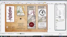 Design Professional Brochures Using GIMP Inkscape and Scribus