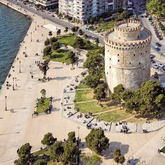 And now it's time for the White Tower and our beautiful Greece Holiday, Thessaloniki, Ancient Greece, Heaven On Earth, Countries Of The World, Greek Islands, Continents, Beautiful Places, Amazing Places