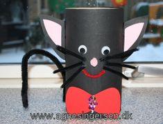 fastelavnstøndekat Paper Plate Crafts For Kids, Paper Roll Crafts, Cat Crafts, Diy And Crafts, February Holidays, Kids Dress Up, Cardboard Tubes, Art Bag, Quilling Patterns