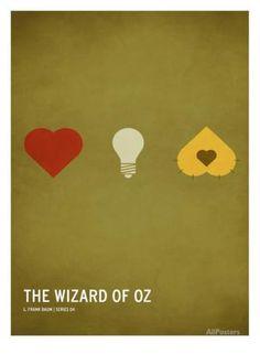 Wizard of Oz (kid version) Kunstdruk
