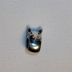 Pandora Retired & HTF Mouse Sterling Silver Charm Signed ALE 925  Rare & Hard to find!  $125.00