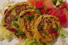 Vegan & Gluten Free Avocado Fritters.
