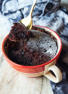 Vegan Chocolate Mug Cake | Easy, Under 4 Minutes Brownie-sh Recipe #veganmugcake