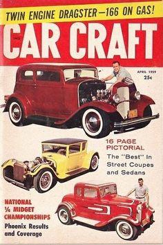 Vintage Car Craft Magazine - Old Hot Rods