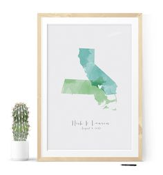 The famous #watercolor state #guestbook can be yours now!