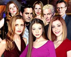 Buffy the Vampire Slayer, 1997 TV series.  Starring Sarah Michelle Gellar, Alyson Hannigan, Nicholas Brendon, Anthony Head, James Marsters