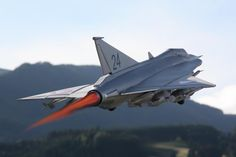 Saab J-35 Draken Afterburner