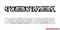 Latest Maori Armband Tattoo Design | Tattoo Viewer.com