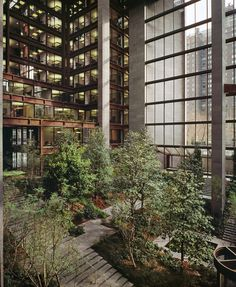 (STÄNGT TILL 2018) The Ford Foundation Atrium, Roche Dinkeroo & Dan Kiley, 1440 Broadway