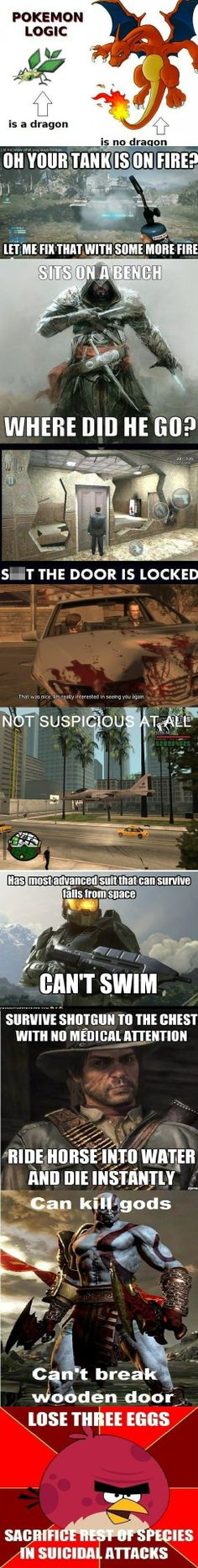 Games logic // funny pictures - funny photos - funny images - funny pics - funny quotes - #lol #humor #funnypictures