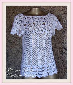  How to crochet : Crochet blouse  for free  crochet Patterns  2030