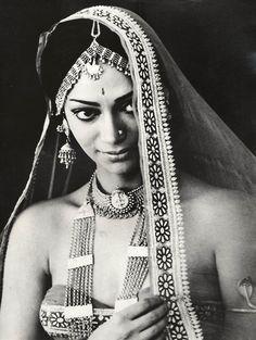 "Simi Garewal, she is in ""Siddharta"", one of my favorite Hindi, film."
