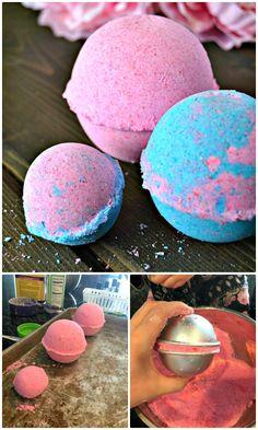 DIY Homemade Bath Bombs - DIY Bath Bombs - 101 Easy DIY Bath Bombs Recipes - DIY & Crafts