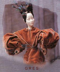 Le théâtre de la Mode. Madame Grès.