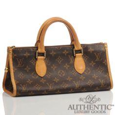 Louis Vuitton Monogram Popincourt Pm Canvas Leather Top Handle Handbag