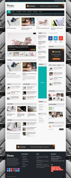 Presto, WordPress Responsive Powerful Blog Magazine Theme
