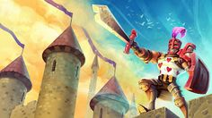 Dungeon Defenders 2 Illustrations