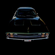 1968 Dodge Charger R/T Avatar - Black II