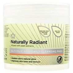 Superdrug Naturally Radiant Glycolic Acid Pads 60