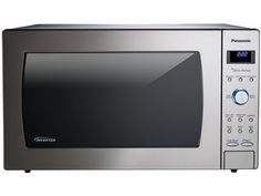 Panasonic NN-SD997S - Luxury-Full Size 2.2 Cu. Ft. Genius Prestige Countertop/Built-In Microwave Oven with Inverter Technology, Stainless, $300,   Exterior Dimensions H x W x D (in.)	 14 x 23 7/8 x 19 15/16 Cavity Dimensions H x W x D (in.)	 10 15/16 x 18 7/16 x 18 1/2