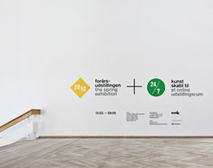 Rasmus Koch Studio Exhibition Environmental Graphic